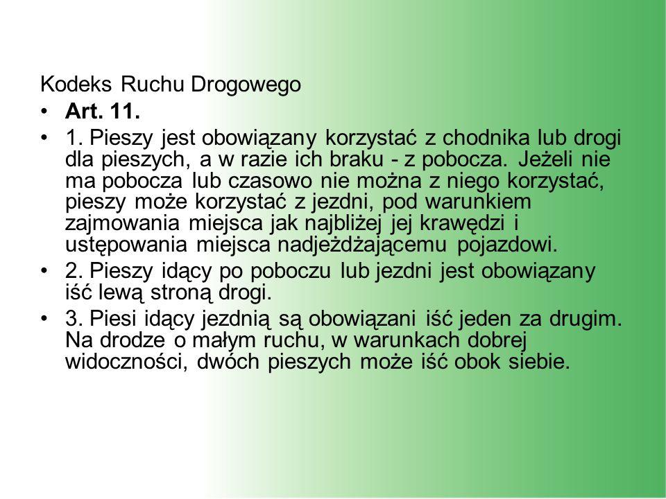 Kodeks Ruchu Drogowego