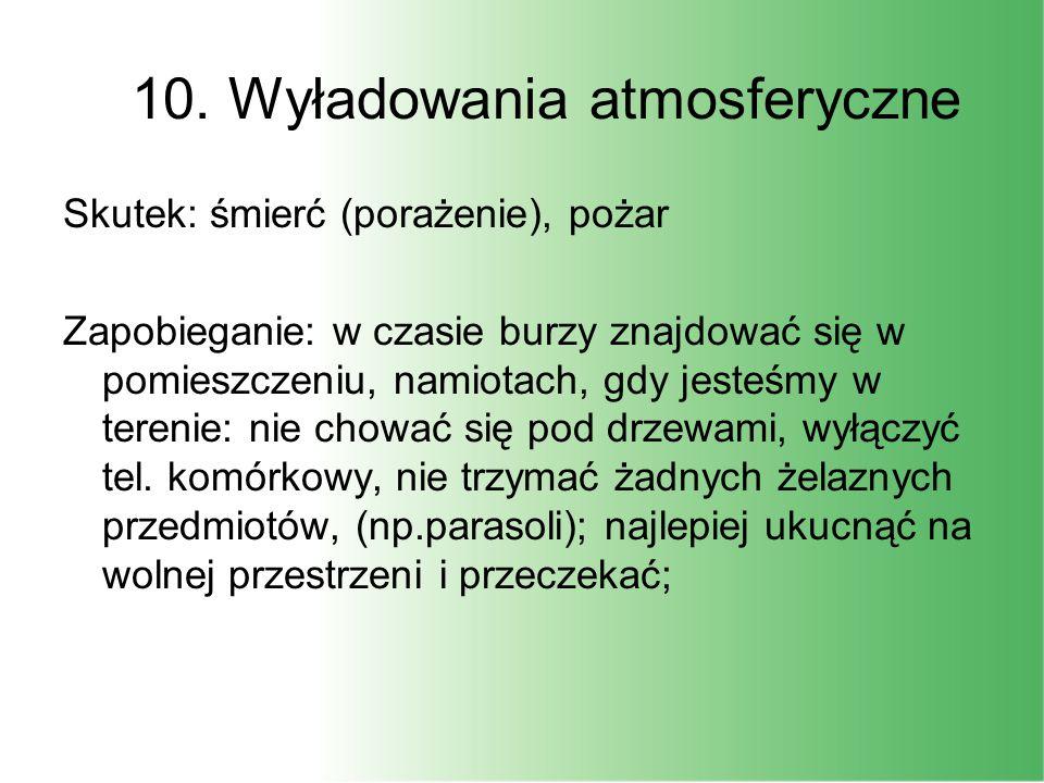 10. Wyładowania atmosferyczne