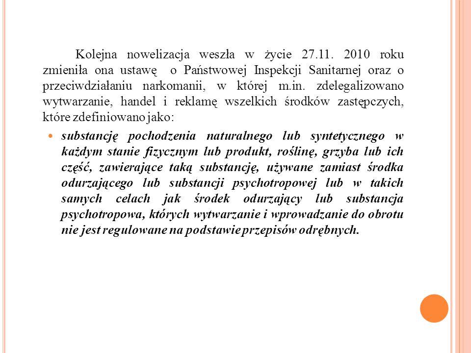 Kolejna nowelizacja weszła w życie 27. 11