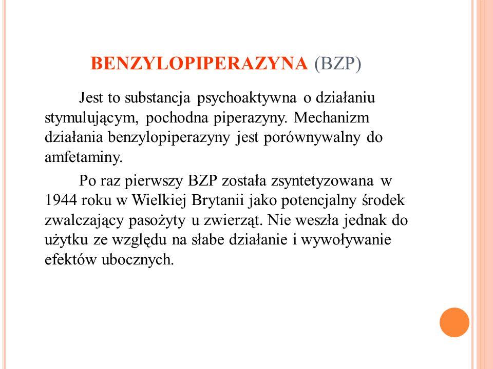 BENZYLOPIPERAZYNA (BZP)