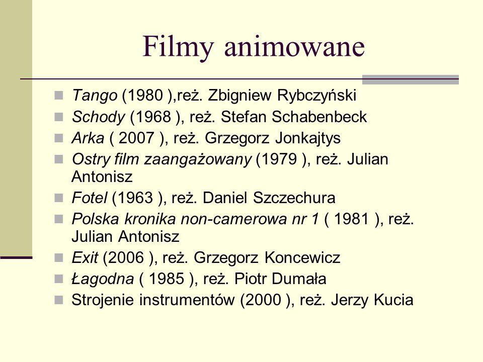 Filmy animowane Tango (1980 ),reż. Zbigniew Rybczyński