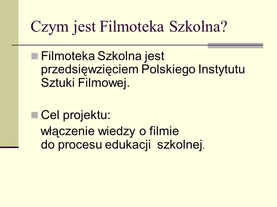 Czym jest Filmoteka Szkolna
