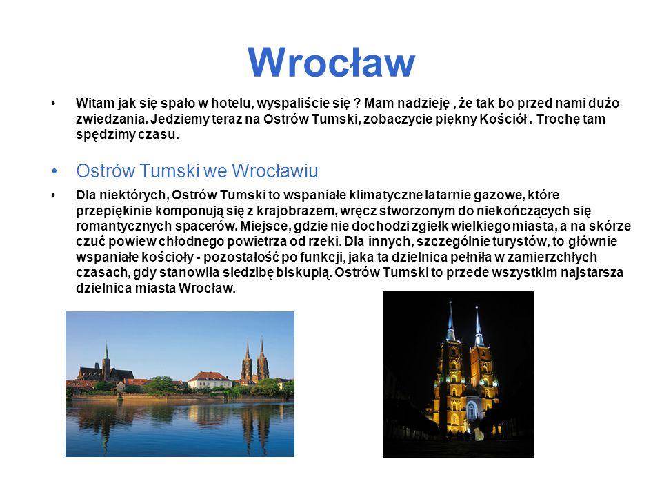 Wrocław Ostrów Tumski we Wrocławiu