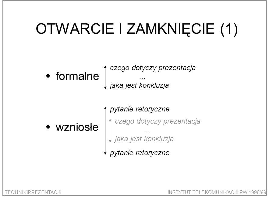 OTWARCIE I ZAMKNIĘCIE (1)