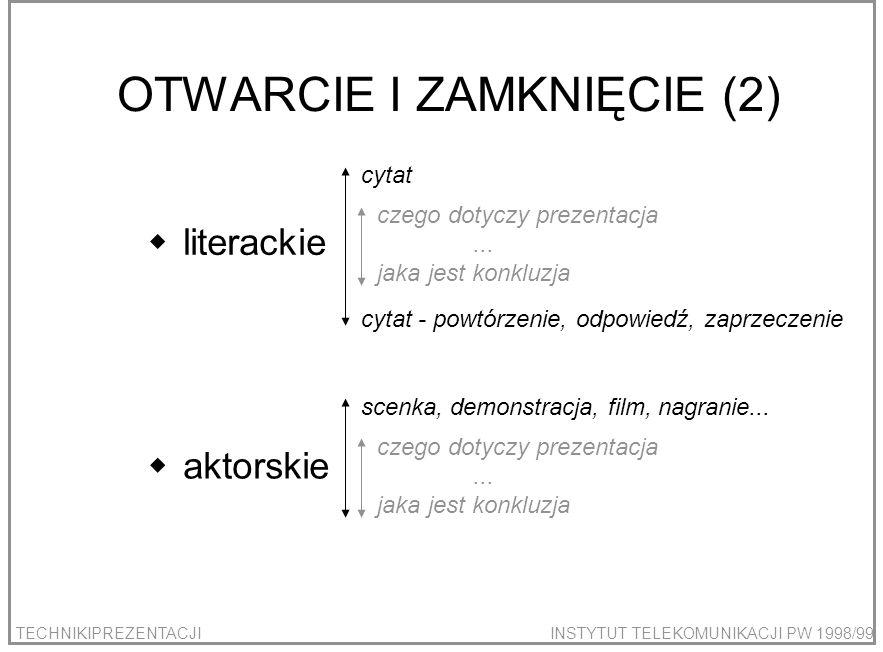 OTWARCIE I ZAMKNIĘCIE (2)