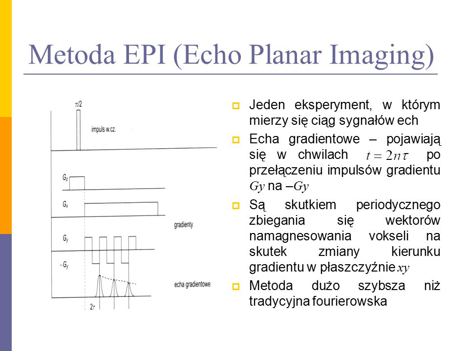 Metoda EPI (Echo Planar Imaging)
