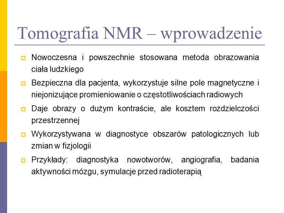 Tomografia NMR – wprowadzenie