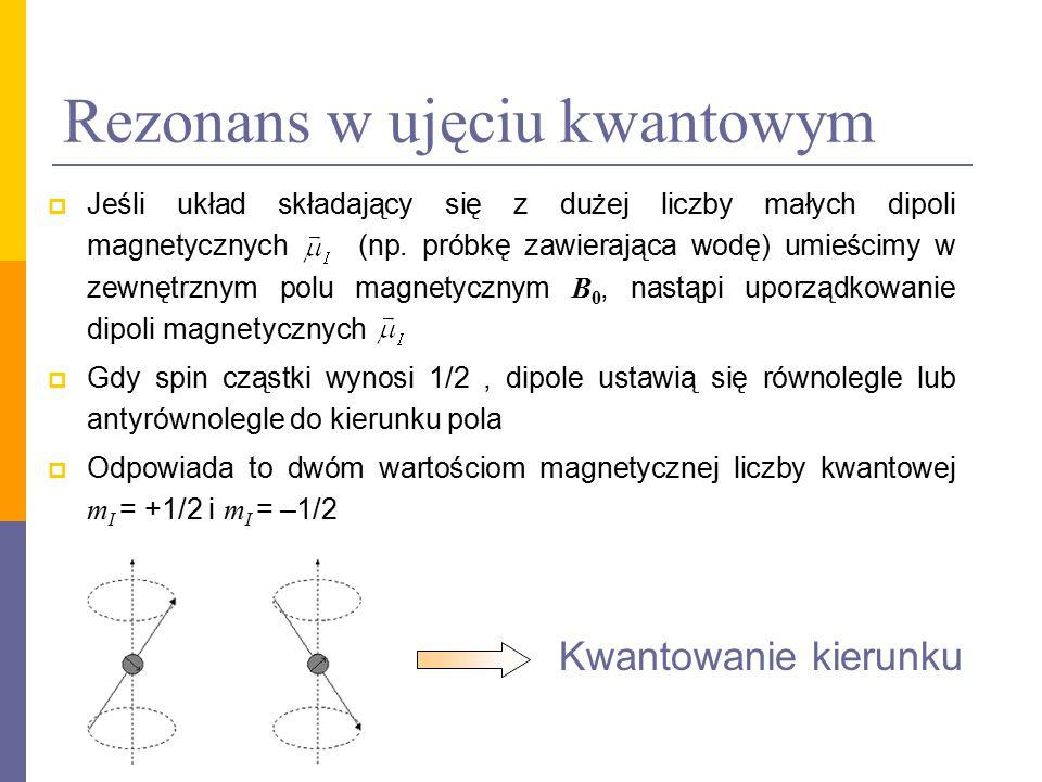 Rezonans w ujęciu kwantowym
