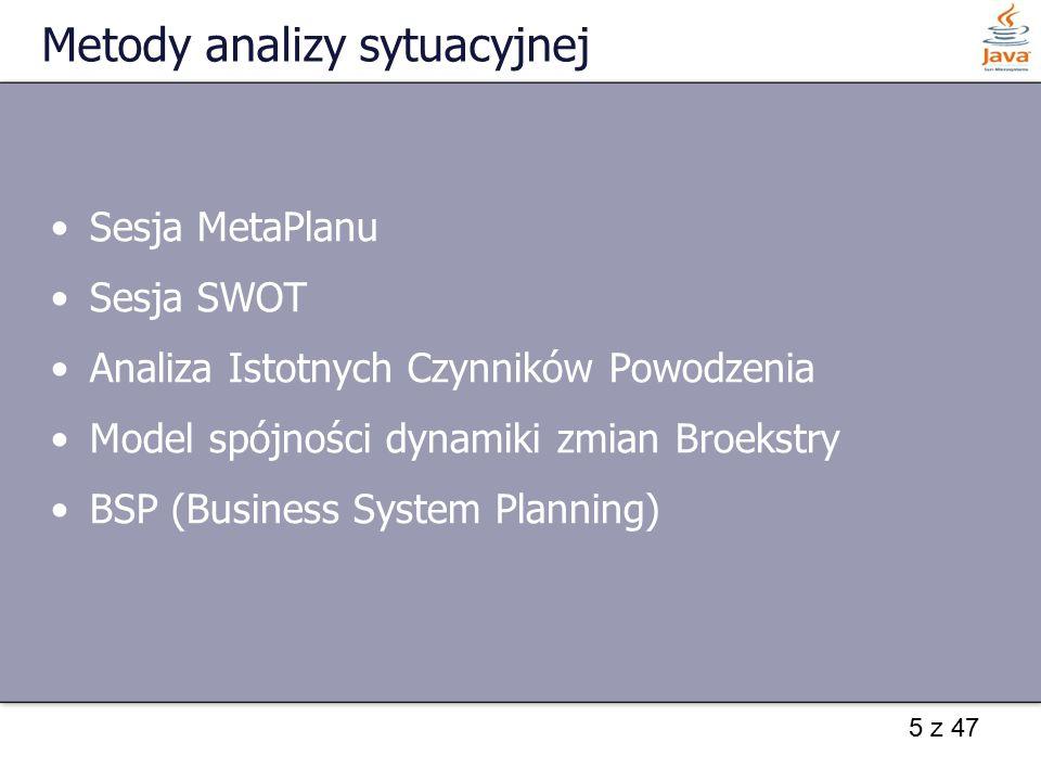 Metody analizy sytuacyjnej