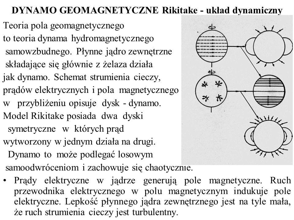 DYNAMO GEOMAGNETYCZNE Rikitake - układ dynamiczny
