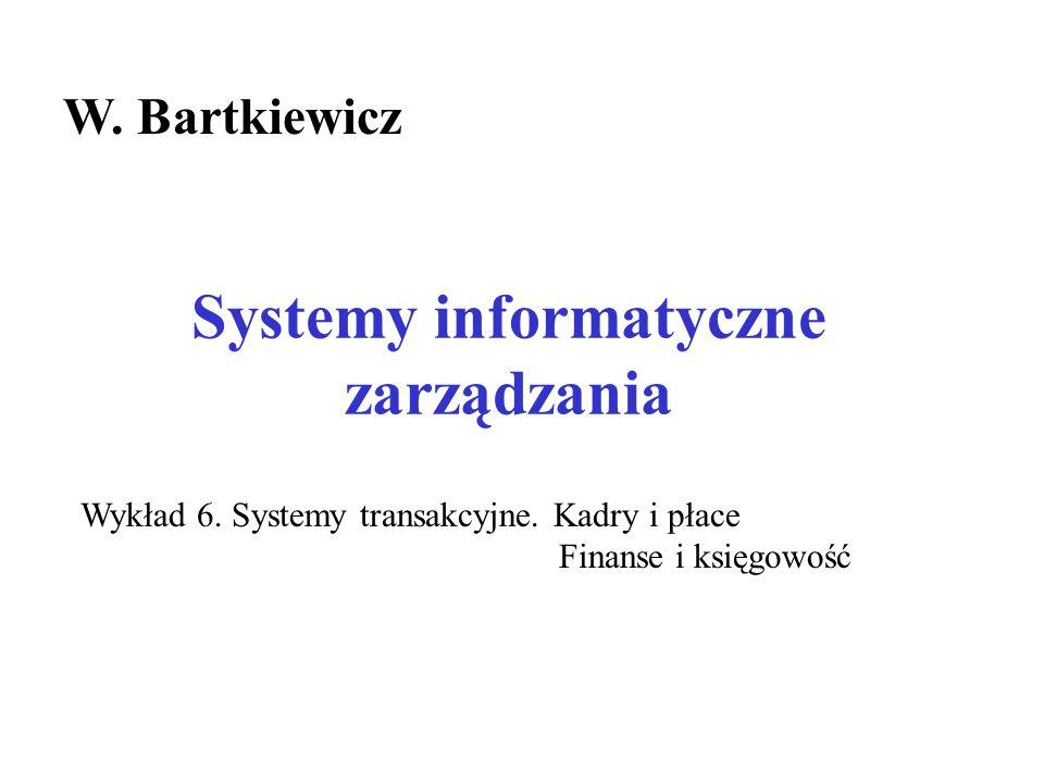 Systemy informatyczne zarządzania