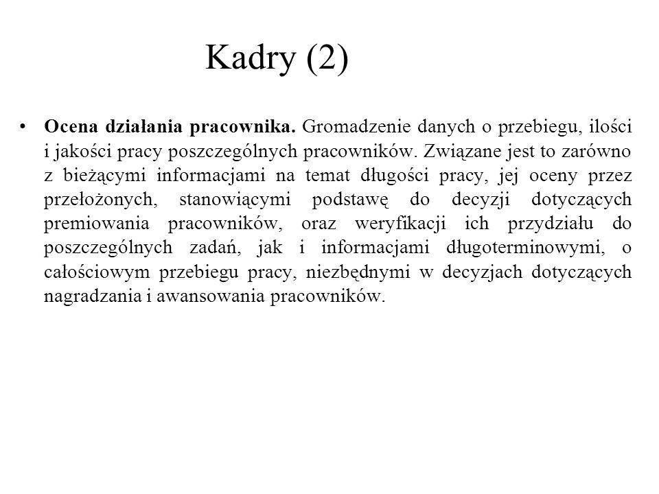 Kadry (2)
