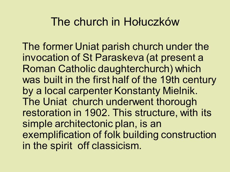 The church in Hołuczków