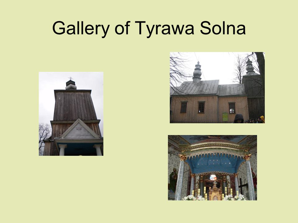 Gallery of Tyrawa Solna