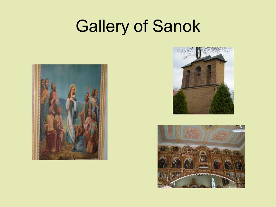 Gallery of Sanok