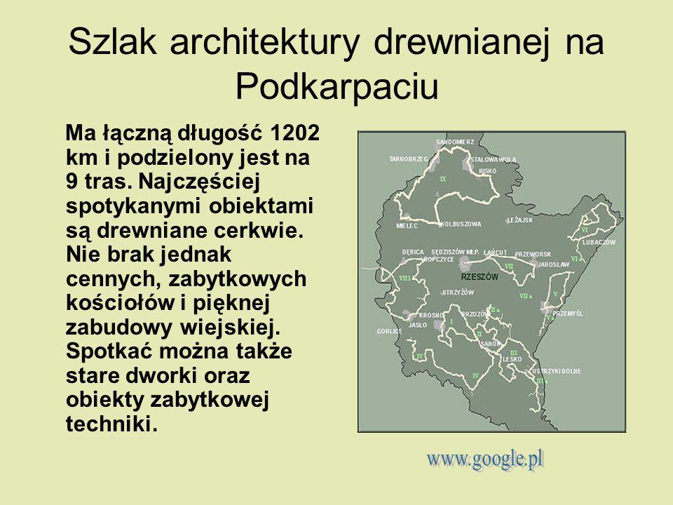 Szlak architektury drewnianej na Podkarpaciu