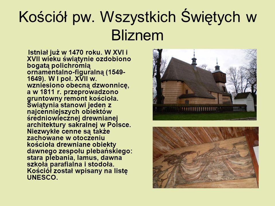 Kościół pw. Wszystkich Świętych w Bliznem
