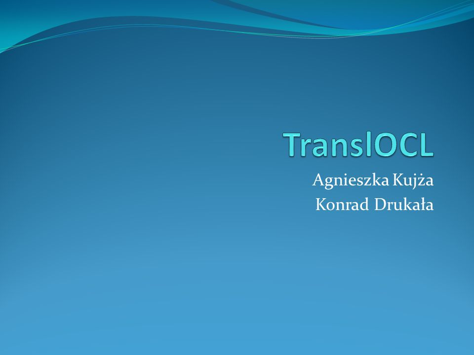 Agnieszka Kujża Konrad Drukała