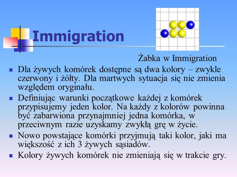 Immigration Żabka w Immigration