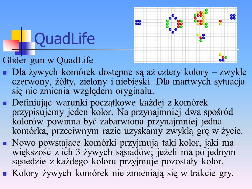 QuadLife Glider gun w QuadLife