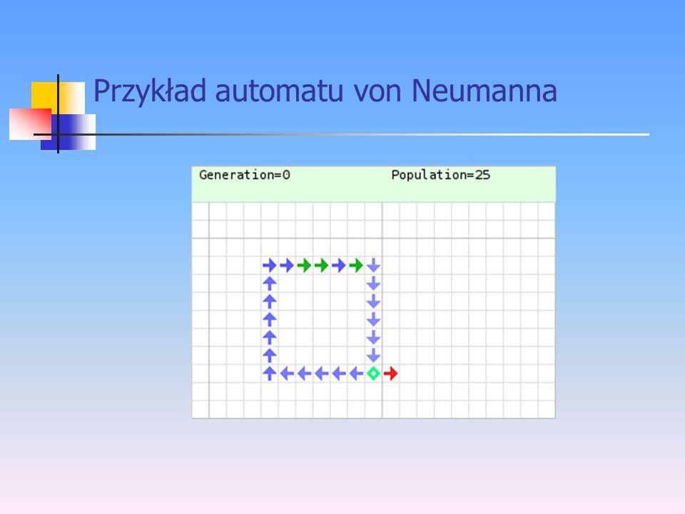 Przykład automatu von Neumanna