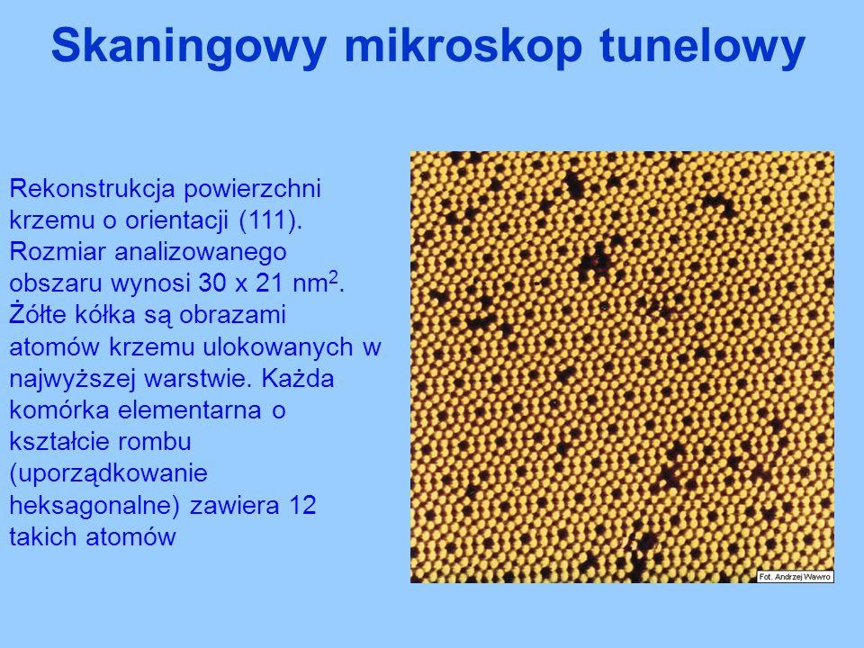 Skaningowy mikroskop tunelowy