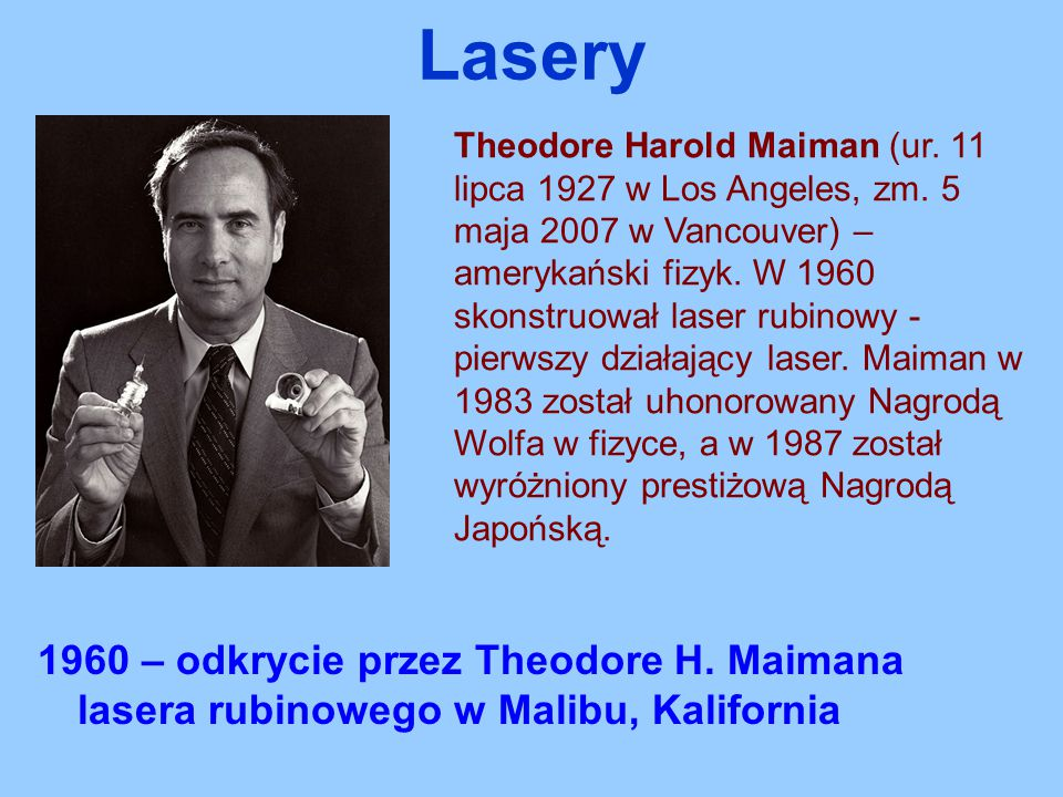 Lasery