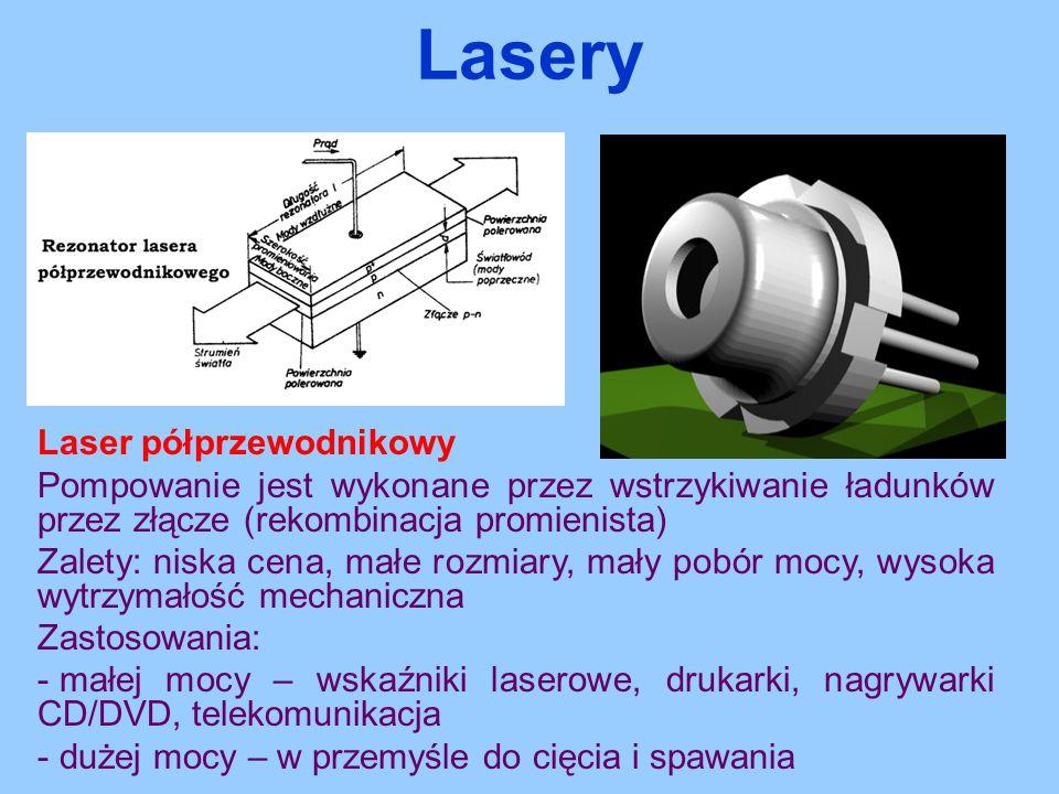 Lasery Laser półprzewodnikowy