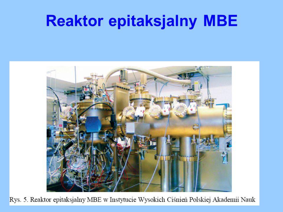 Reaktor epitaksjalny MBE
