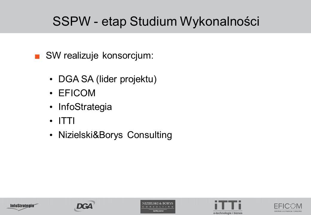 SSPW - etap Studium Wykonalności