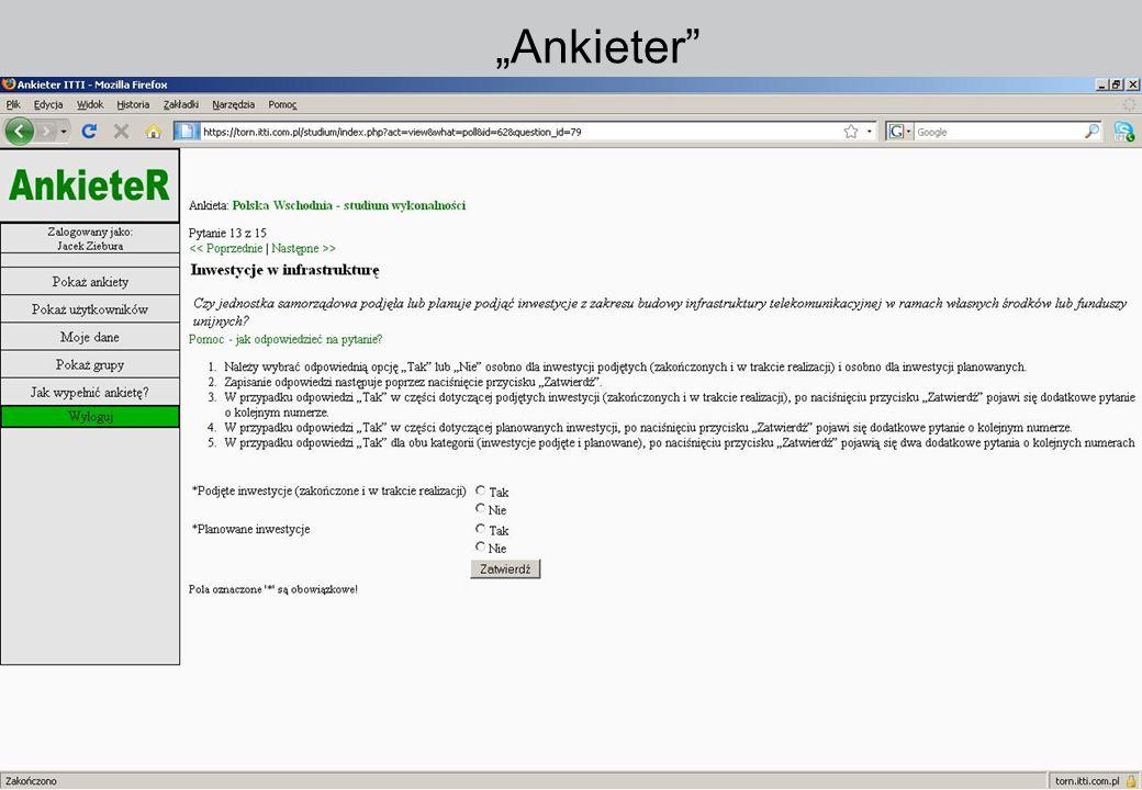 """""""Ankieter 5.02.09 5.02.09 www.itti.com.pl www.itti.com.pl 41"""