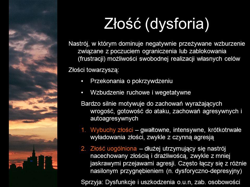 Złość (dysforia)