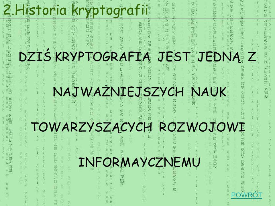 2.Historia kryptografii