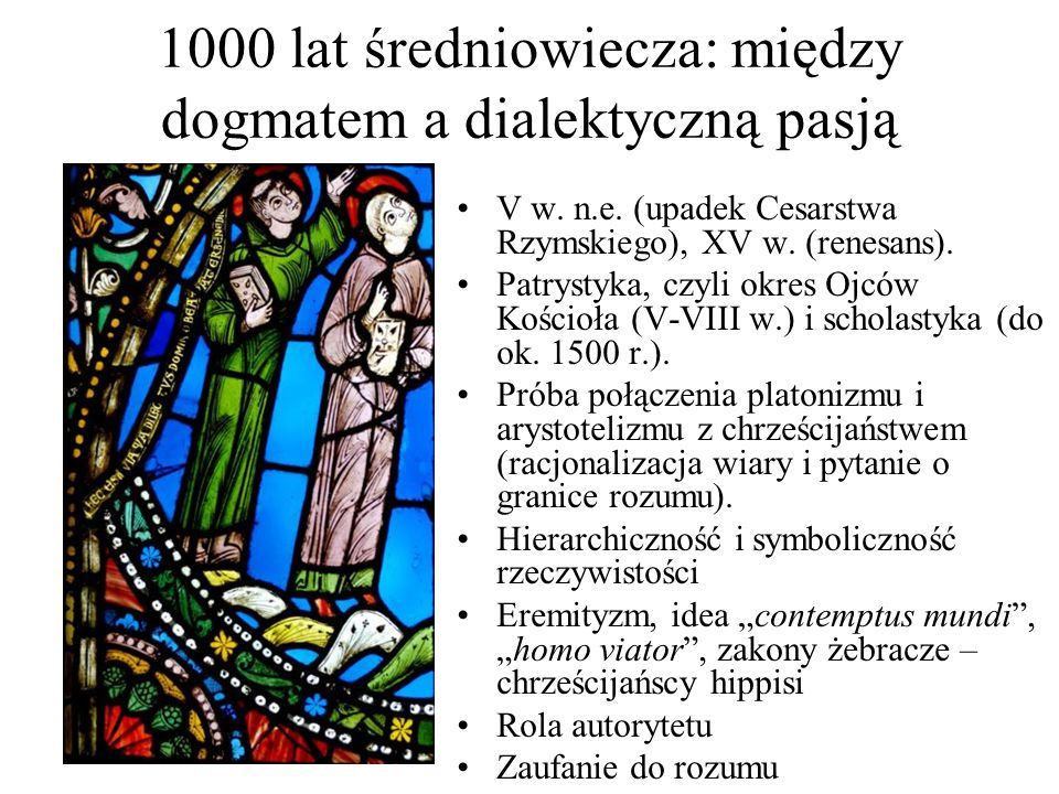 1000 lat średniowiecza: między dogmatem a dialektyczną pasją