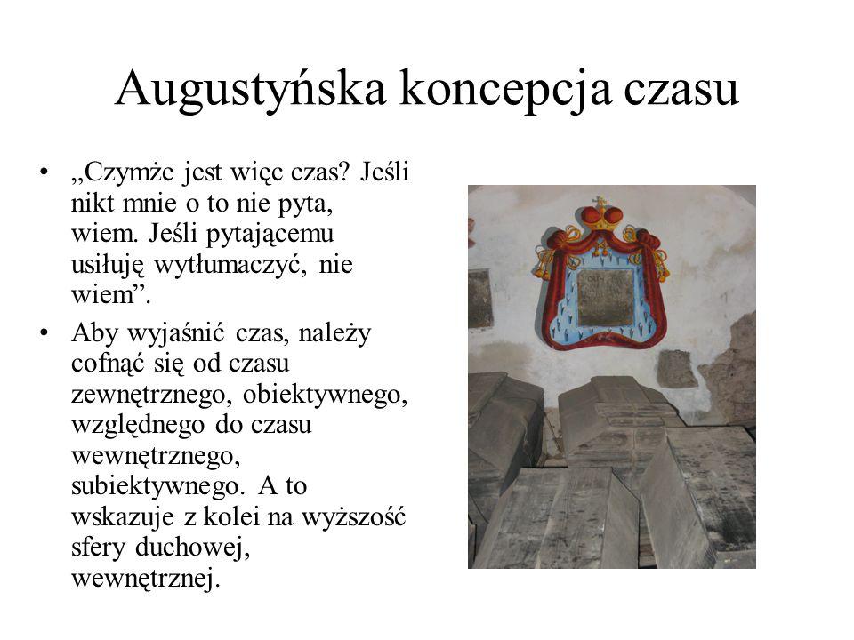 Augustyńska koncepcja czasu