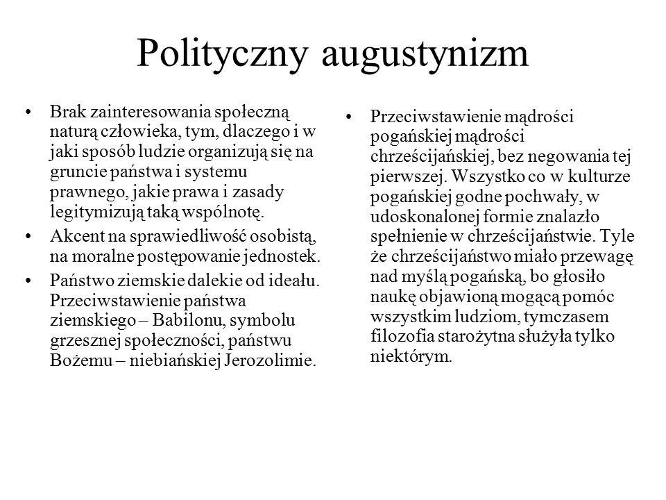 Polityczny augustynizm