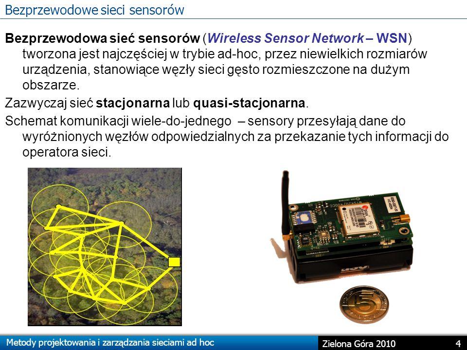 Bezprzewodowe sieci sensorów