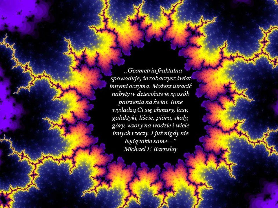 """""""Geometria fraktalna spowoduje, że zobaczysz świat innymi oczyma"""