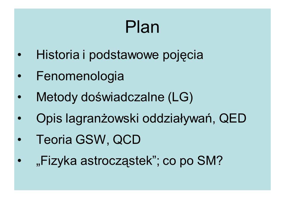 Plan Historia i podstawowe pojęcia Fenomenologia