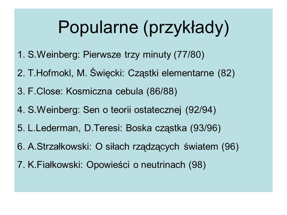 Popularne (przykłady)