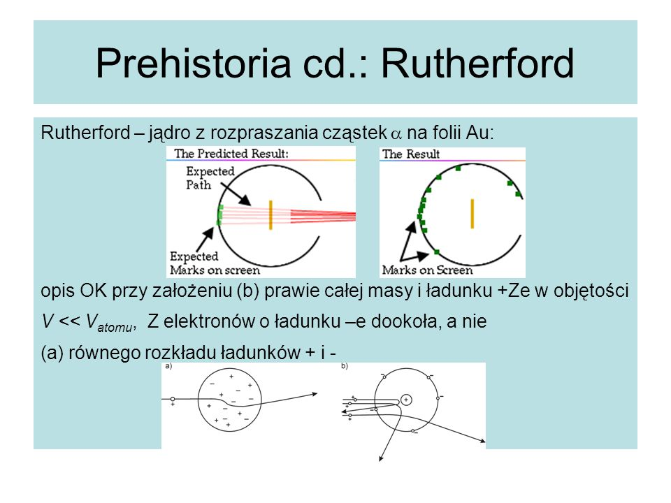 Prehistoria cd.: Rutherford