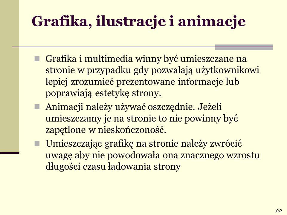 Grafika, ilustracje i animacje