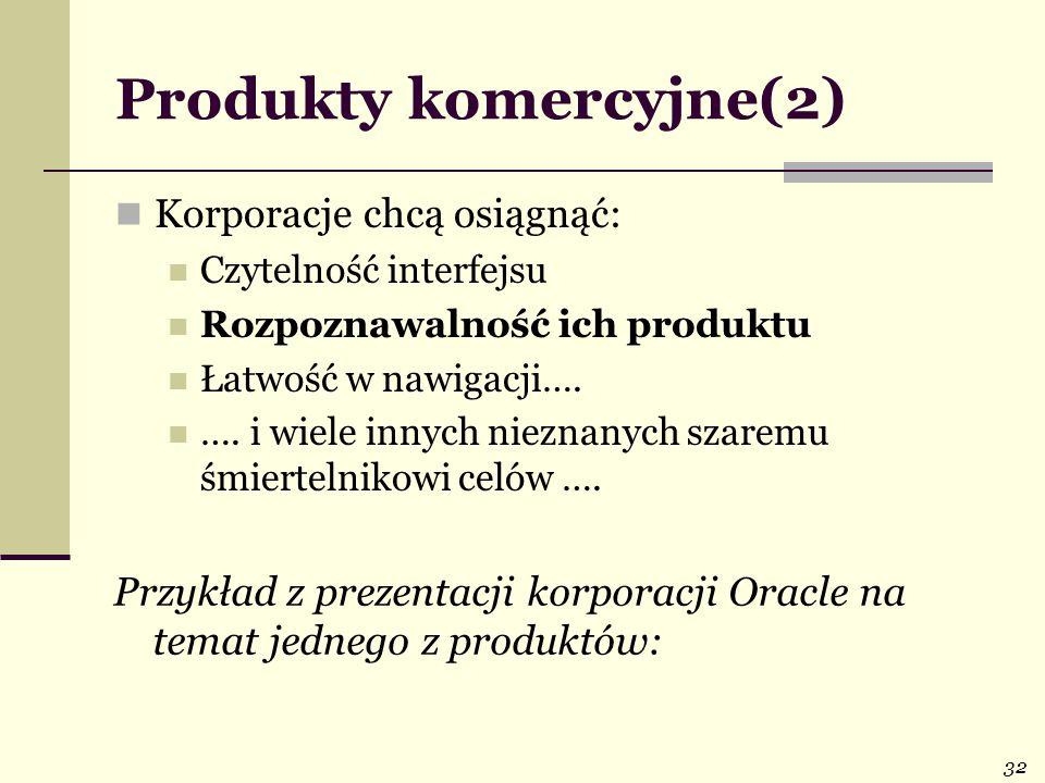 Produkty komercyjne(2)