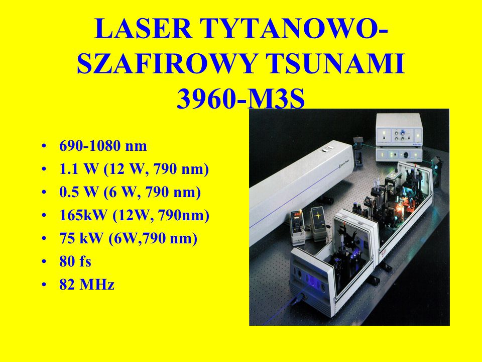 LASER TYTANOWO-SZAFIROWY TSUNAMI 3960-M3S