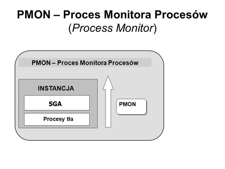 PMON – Proces Monitora Procesów (Process Monitor)