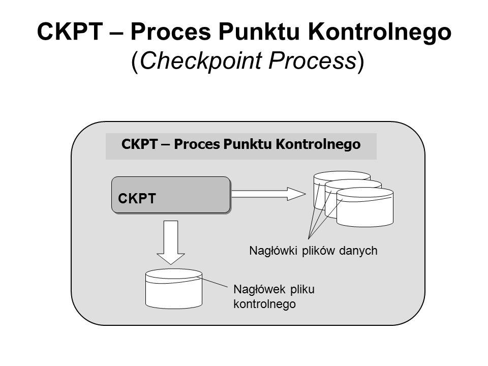 CKPT – Proces Punktu Kontrolnego (Checkpoint Process)