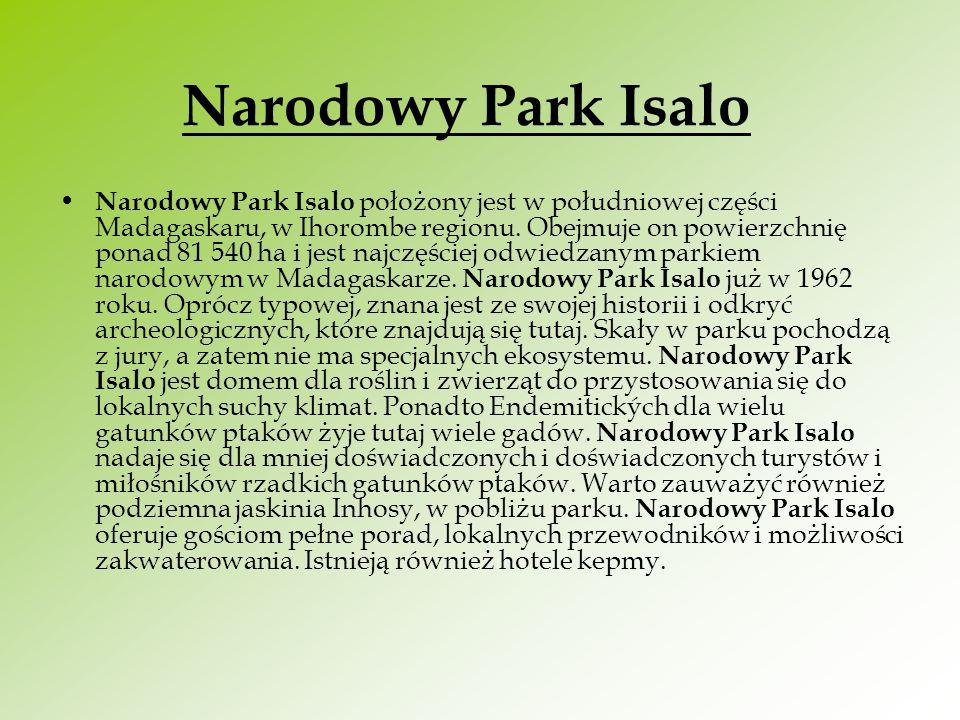 Narodowy Park Isalo