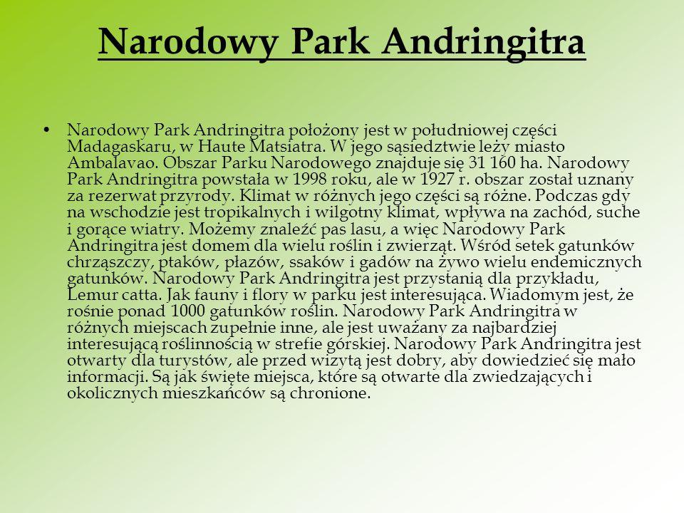 Narodowy Park Andringitra