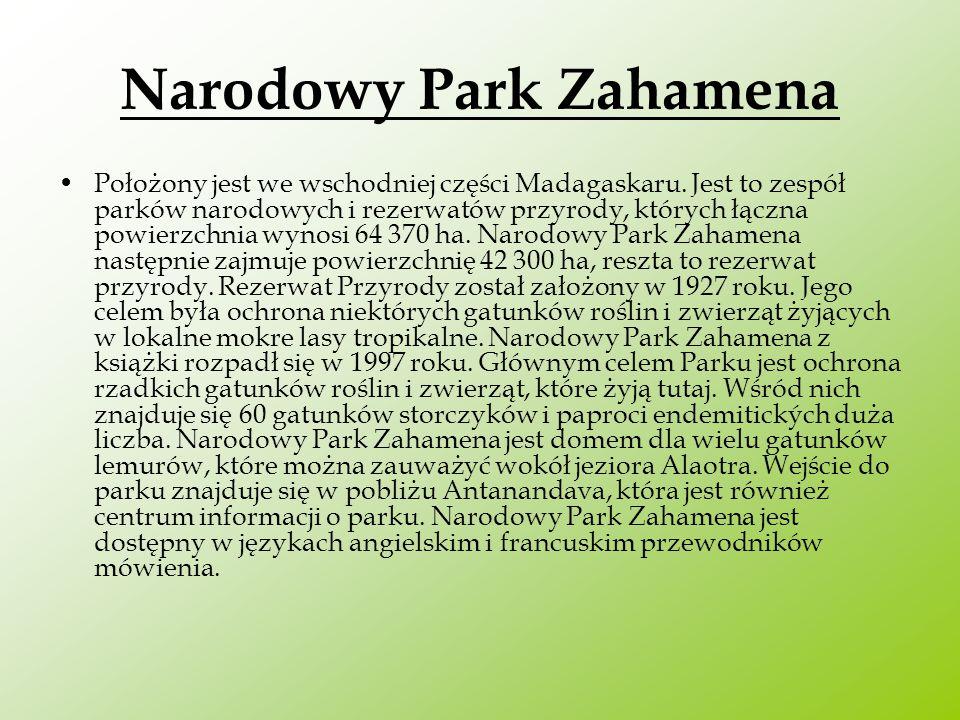 Narodowy Park Zahamena