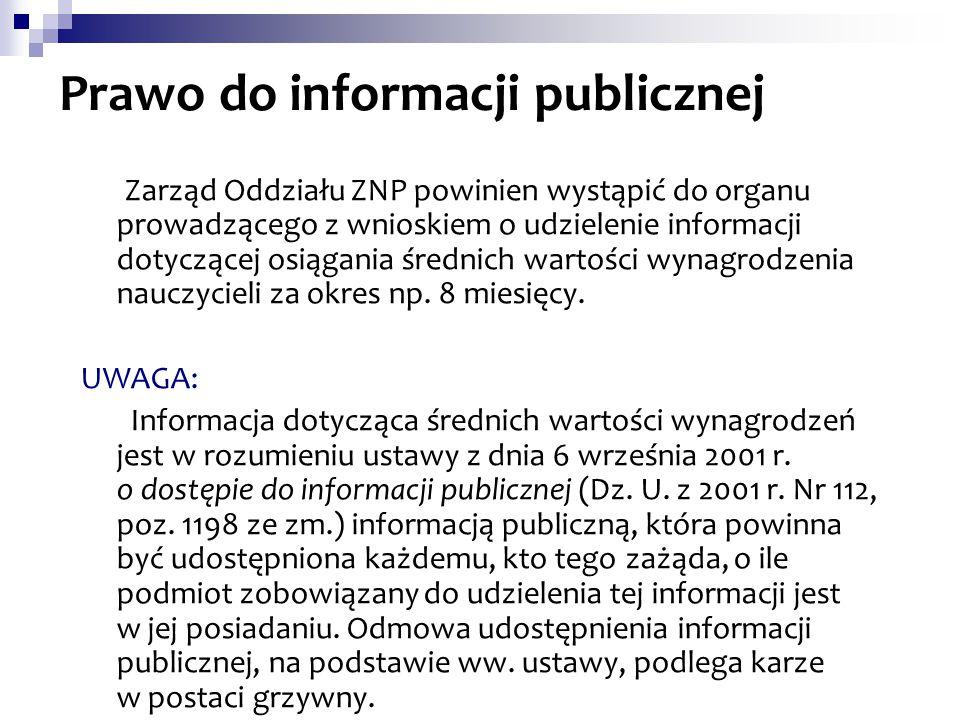 Prawo do informacji publicznej